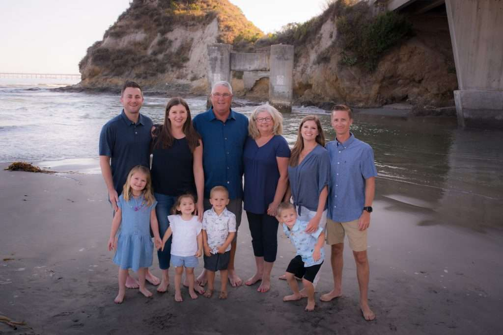 Avila Beach family photos